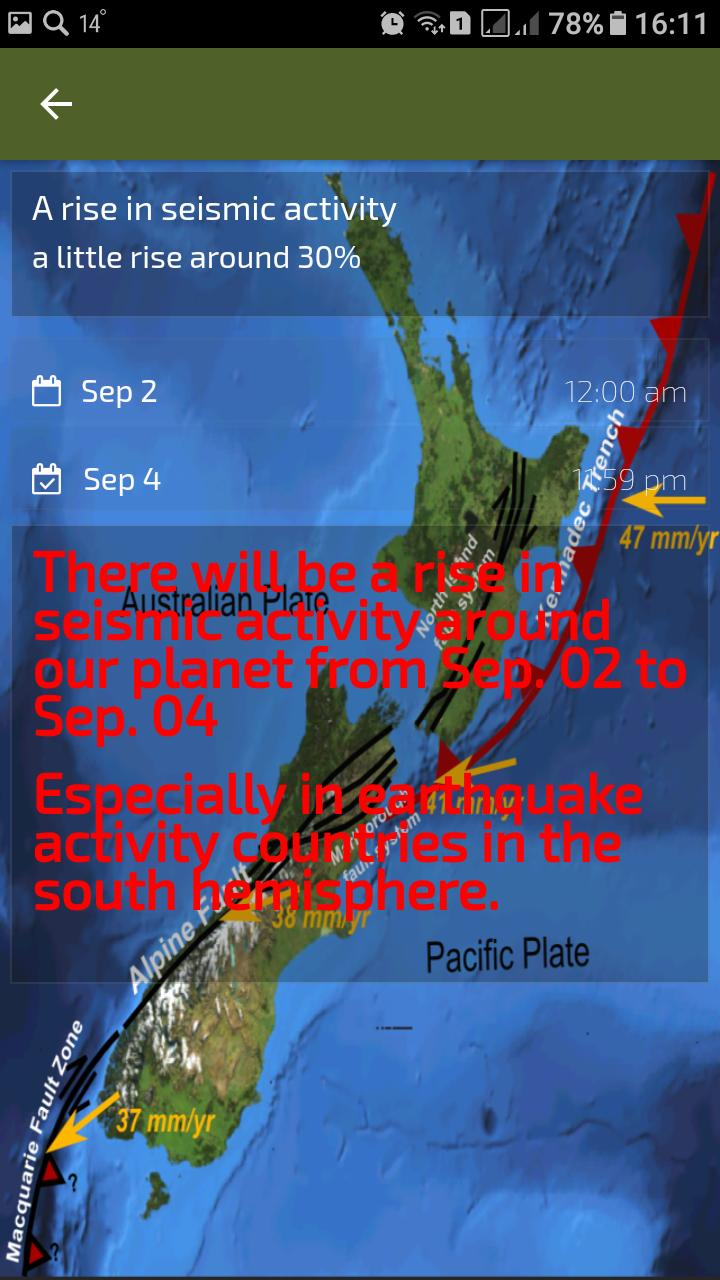 Y S S  Earthquake Prediction for Android - APK Download