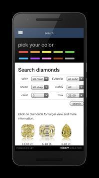 DDiam Fancycolored Diamonds screenshot 2