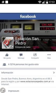 Estación San Pedro 88.5 screenshot 3