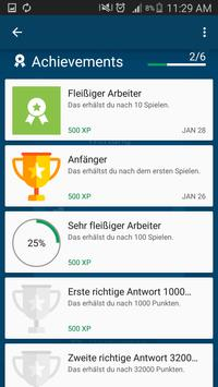 Neuer Millionär - Millionaire quiz game in German screenshot 2