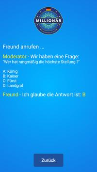 Neuer Millionär - Millionaire quiz game in German screenshot 7
