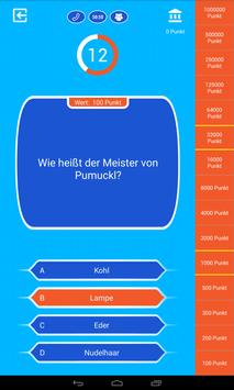 Neuer Millionär - Millionaire quiz game in German screenshot 9