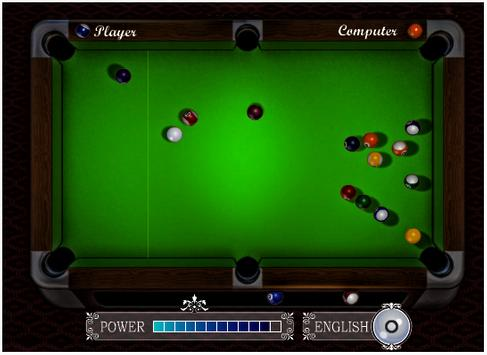 Pool Billiards Game poster