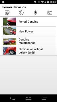 Ferrari Road ES apk screenshot