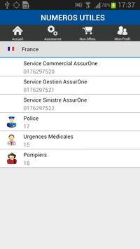 AssurOne Assistance screenshot 2