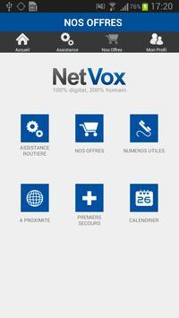 NetVox Assistance poster
