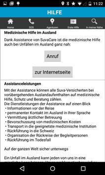 Assistance SuvaCare apk screenshot