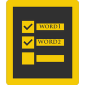 My Words icon