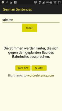 German Words In A Sentence for Android - APK Download