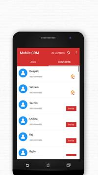 Mobile CRM apk screenshot