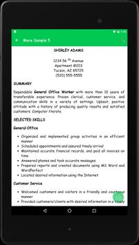 Resume Preparation Guide apk screenshot