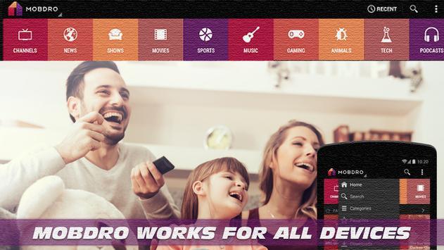 New Mobdro TV Online  Reference apk screenshot