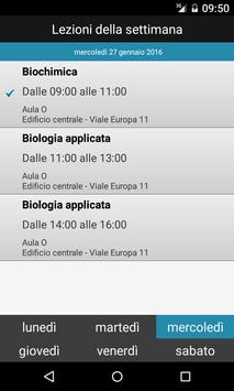 UNIBS Calendari screenshot 1