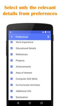 quick resume builder apk download free productivity app for