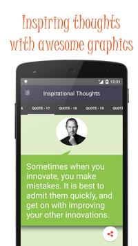 Great Inspirational thoughts screenshot 4
