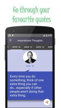 Great Inspirational thoughts screenshot 6