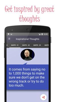 Great Inspirational thoughts poster