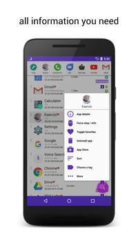 JINA: App Drawer, Sidebar & Folder Organizer screenshot 6
