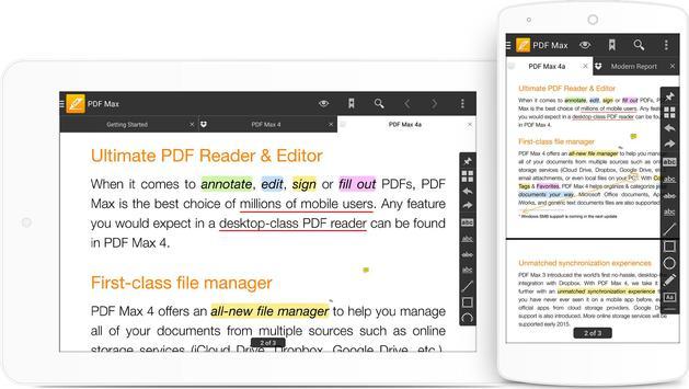 PDF Max - The #1 PDF Reader! screenshot 12