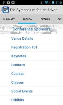 MobePlace Conference Book apk screenshot