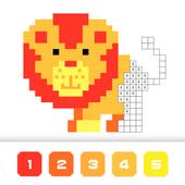 Pixel Art Juego De Colorear Por Números Animales For Android Apk