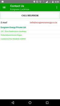 Ecogreen Lucknow apk screenshot