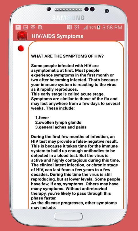 Hivaids apk baixar grtis medicina aplicativo para android hivaids apk imagem de tela fandeluxe Choice Image