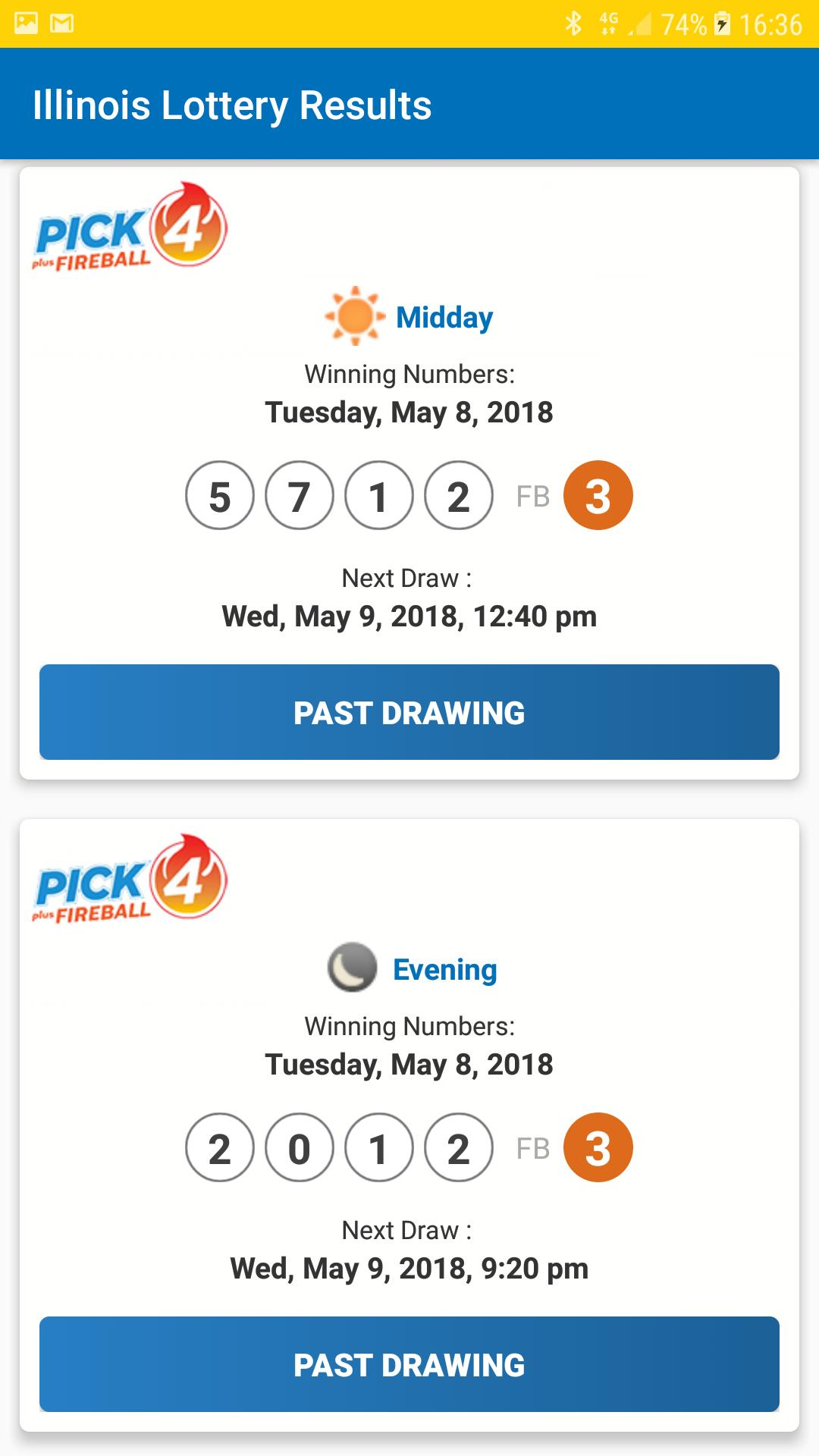 Illinois Lottery Results for Android - APK Download