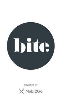 Bite Food + Coffee poster