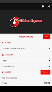 Chicken Supreme poster