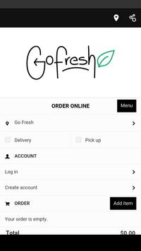 Go Fresh Meals poster