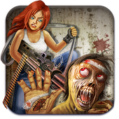 Zombie Shooter Deadly War icon