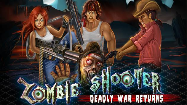 Zombie Shooter Deadly War poster