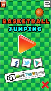 Basketball Jumping poster