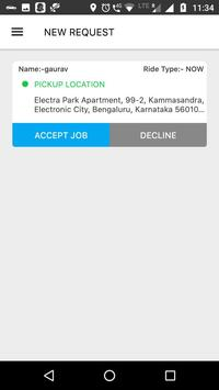 MobiCabs Drivers apk screenshot
