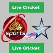 Live Sports TV Cricket icon