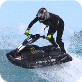 Jet Ski Driver 3D Simulator icon