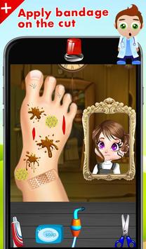 Foot Doctor Surgery Simulator poster