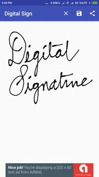 Digital Signature poster