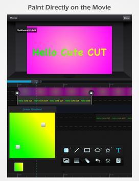 Cute CUT - Video Editor & Movie Maker apk screenshot