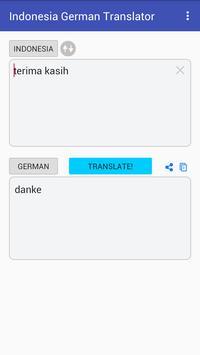 Indonesian German Translator screenshot 3