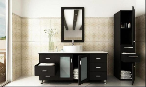 Bathroom Sink Cabinet Ideas poster