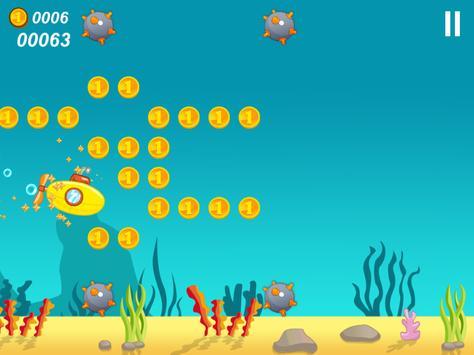 Submarine Happy Dive apk screenshot