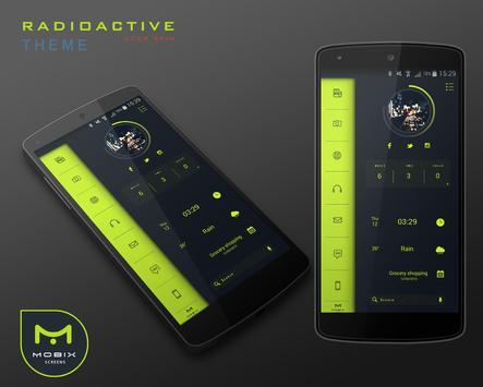 Radioactive Theme UCCW Skin apk screenshot