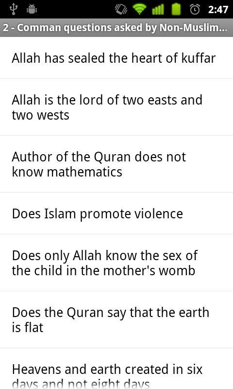 Islam FAQ for Android - APK Download