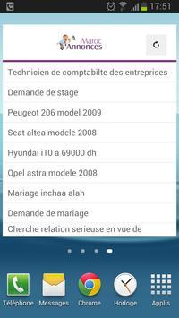 MarocAnnonces apk screenshot