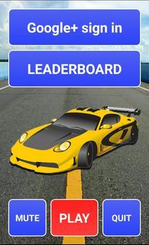 Speedy racing cars poster