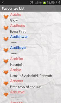 Baby Names (Indian) apk screenshot