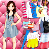 Prom Dress Up Girl Games icon
