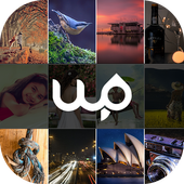 Beautiful HD Wallpapers & Backgrounds by WallPin icon